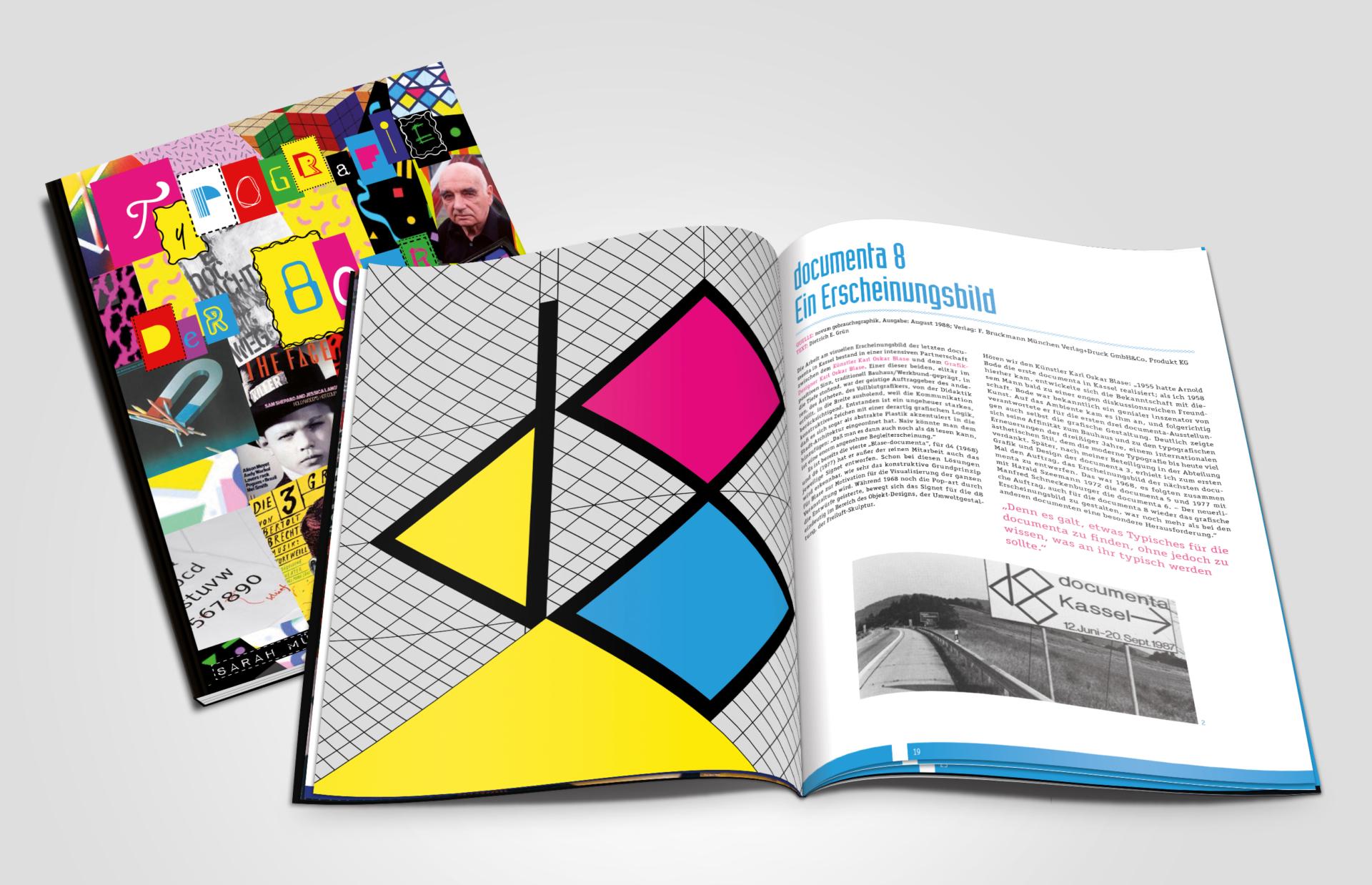 meandsarah – Grafikdesign Editorial: Typografie der 80er Jahre