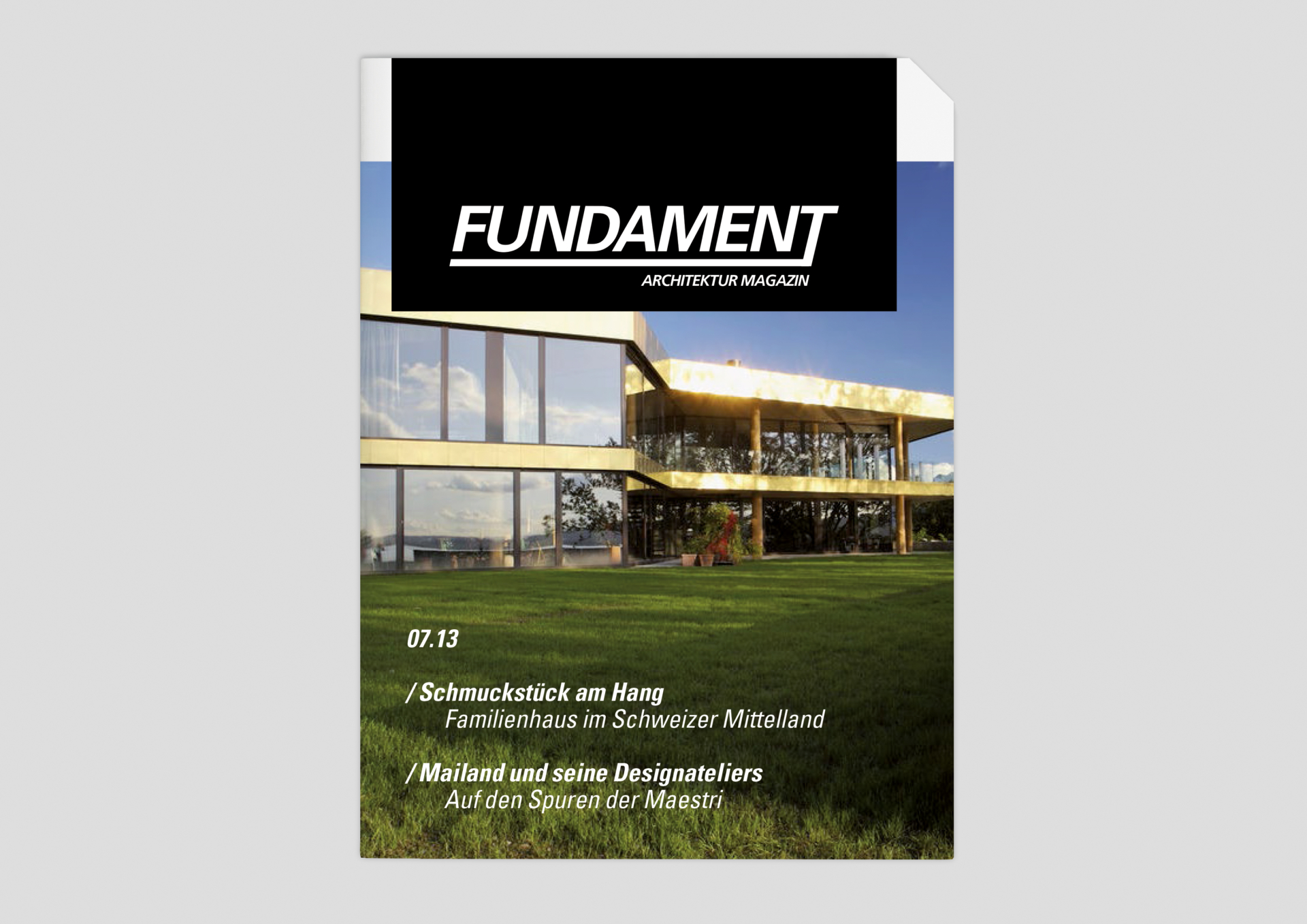meandsarah – Grafikdesign Editorial: Fundament