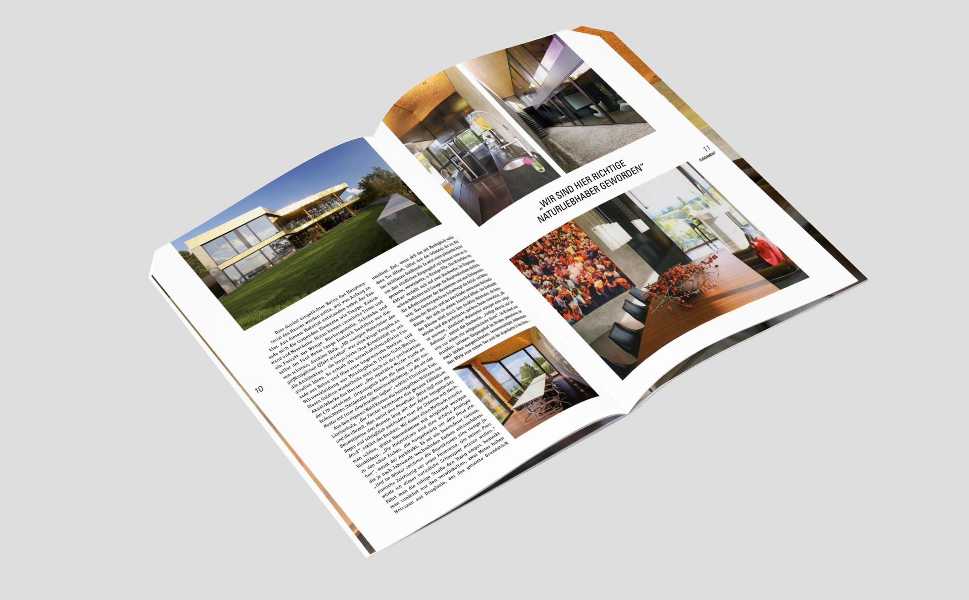 meandsarah – Grafikdesign Editorial: Fundament